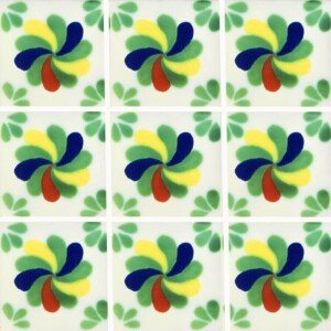 Rehilete Mexican Ceramic Tile