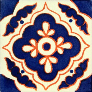 Blue Toledo Mexican Ceramic Tile