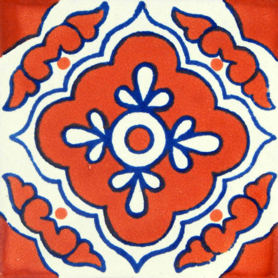 Toledo Terracotta Mexican Ceramic Tile