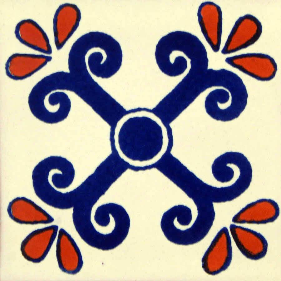 San Miguel Mexican Ceramic Tile