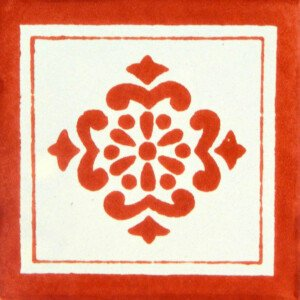 Anita Terracotta Mexican Ceramic Tile