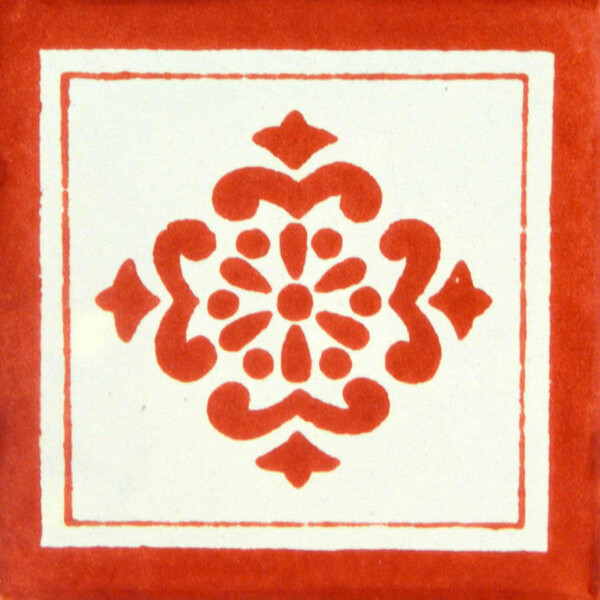 Anita Terracotta Mexican Ceramic Tile