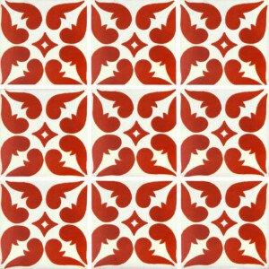 Terracotta Leon Mexican Talavera Tile