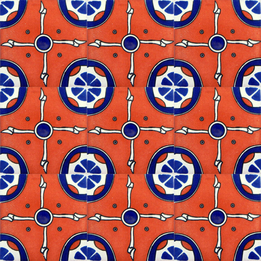 Navajo Mexican Ceramic Tile