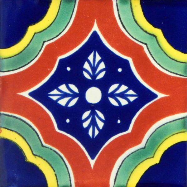 Palacio Multicolor Mexican Talavera Tile