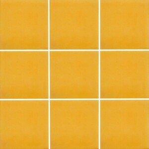 Blue Yellow Hacienda 4 Mexican Ceramic Talavera Tile by Tiles and Tiles