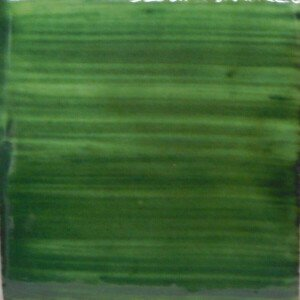 Brushed Green Mexican Ceramic Tile