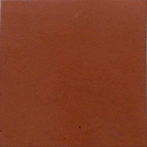 Solid Terracotta Mexican Ceramic Tile