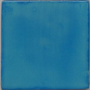 Washed Turquoise Mexican Talavera Tile
