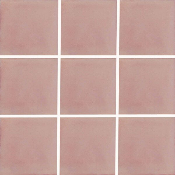 washed pink mexican ceramic tile are handmade in mexico