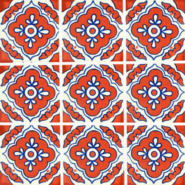 Guadalajara Corner Mexican Talavera Tile