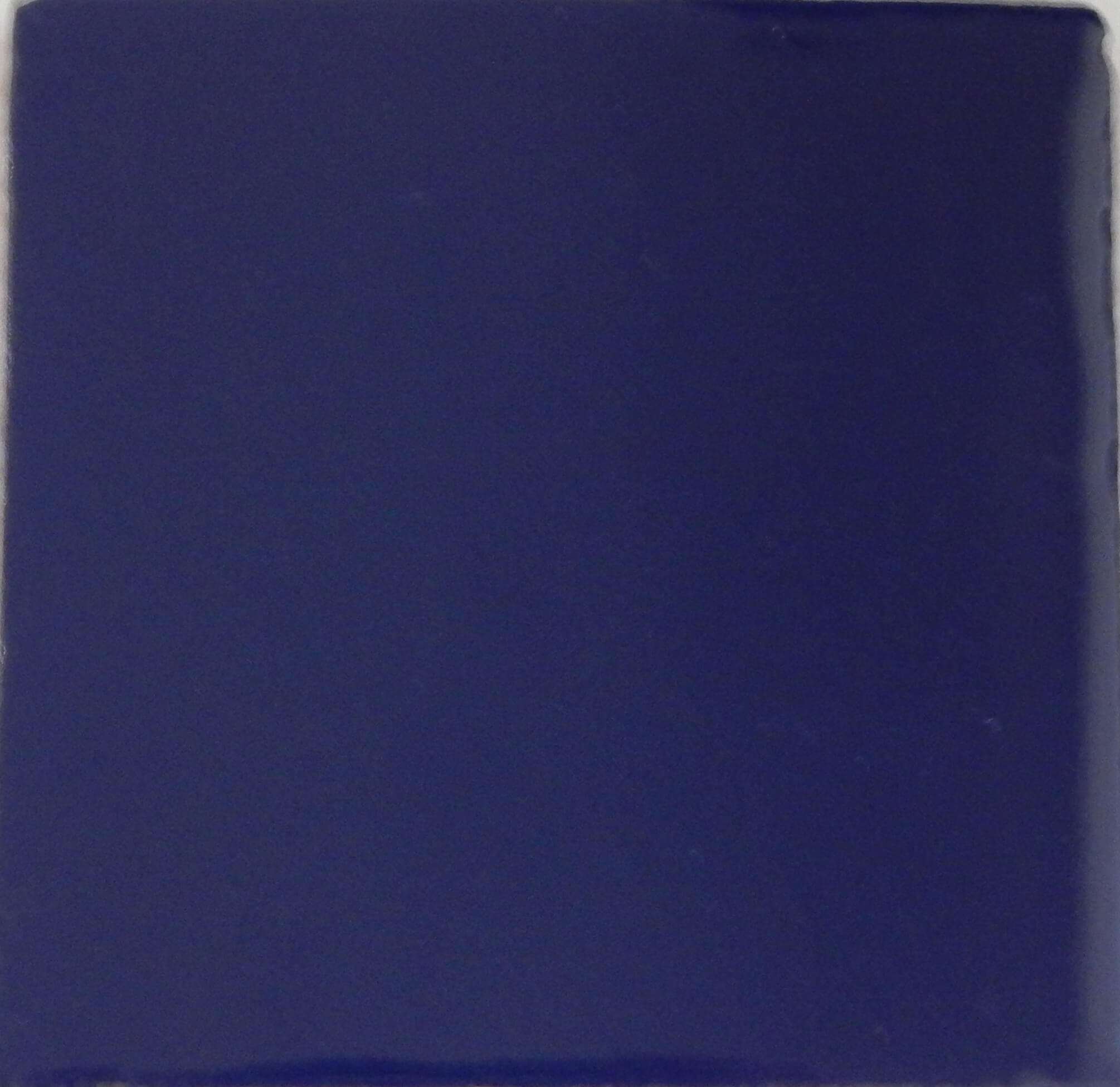 Solid Blue Mexican Ceramic Tile