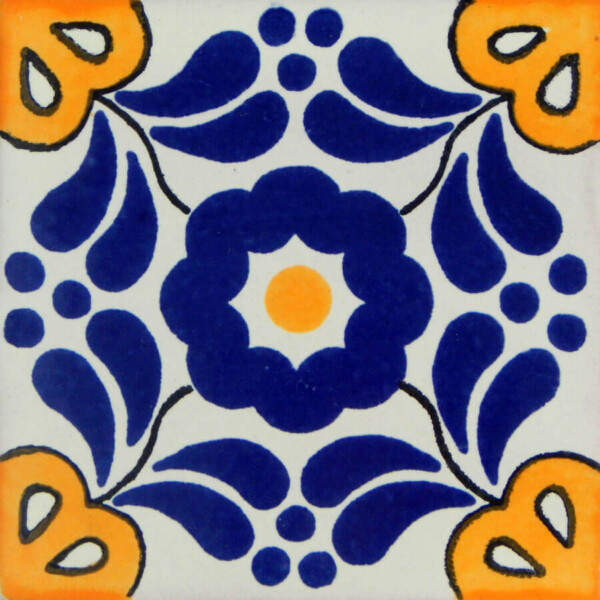 Hacienda I Mexican Ceramic Tile