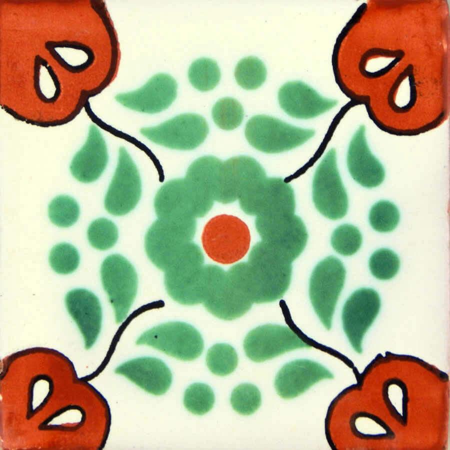 Hacienda 2 Mexican Ceramic Tile
