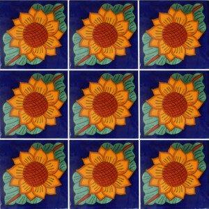 Girasol Mexican Ceramic Tile