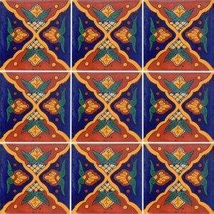 Andalucia Mexican Ceramic Talavera Tile
