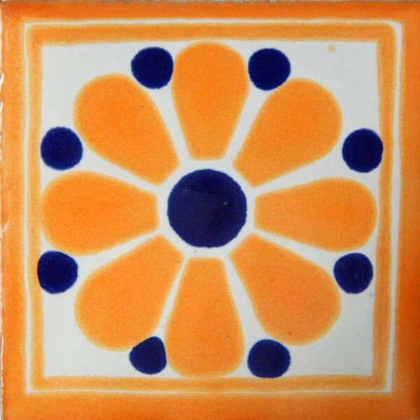 Daisy May I Mexican Ceramic Tile