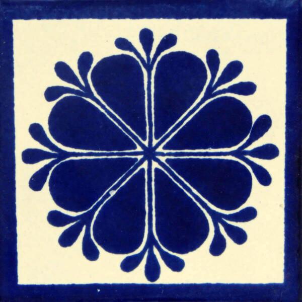 Amapola Mexican Ceramic Talavera Tile