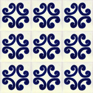 Ancla Mexican Ceramic Talavera Tile