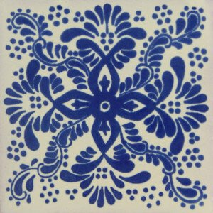 Veronica Mexican Ceramic Talavera Tile