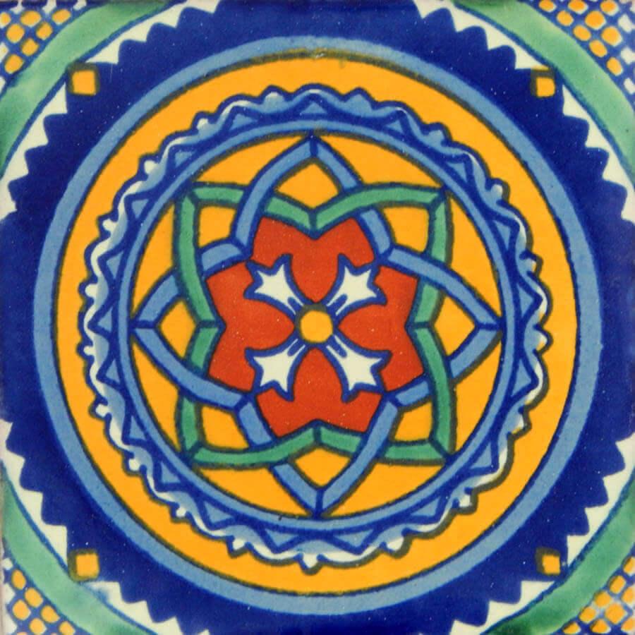 Vitral Mexican Talavera Tile Folk Art