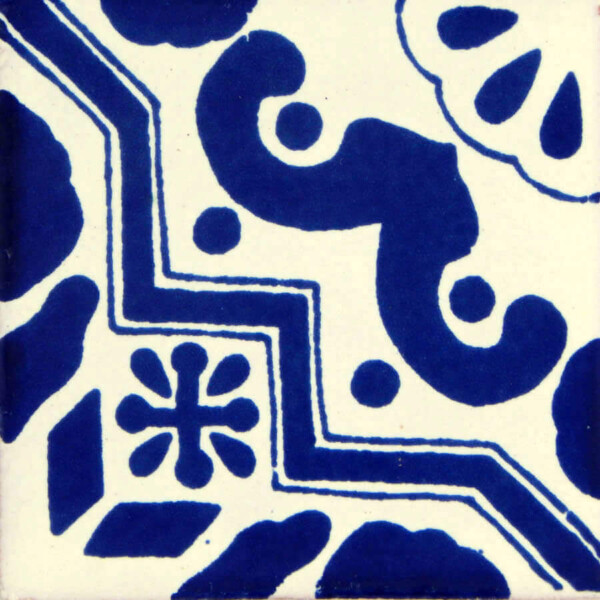 Escalera Mexican Ceramic Tile Folk Art
