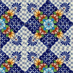 Nevada Mexican Decorative Ceramic Tile