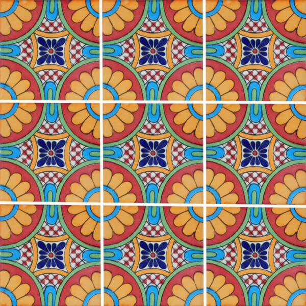Decorative Mexican Tile Tile Design Ideas