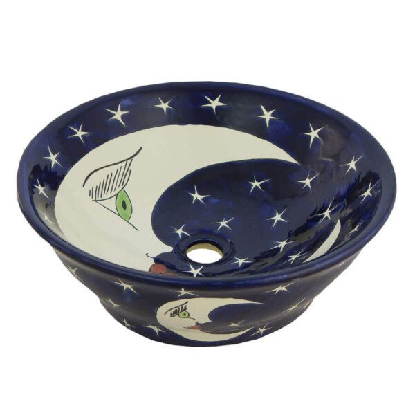 Luna Mexican Vessel sink Bathroom wash basin