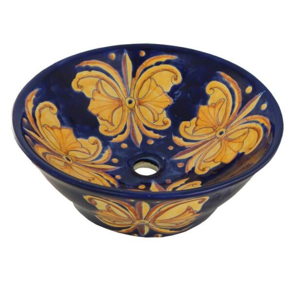 Flor Nacional Vessel sink Bathroom wash basin