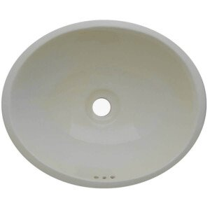 Blanco Mexican Bathroom Ceramic Oval Talavera Sink