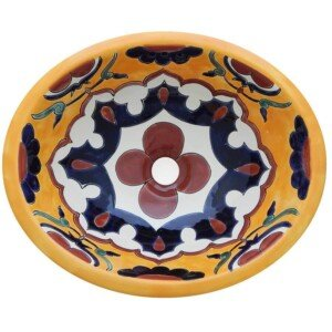 Santa Marta Bathroom Oval Ceramic Sink