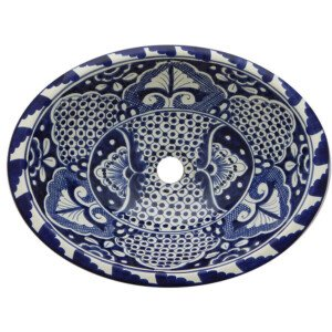 Sedona Bathroom Oval Ceramic Sink