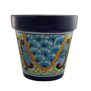 Mexican Ceramic Flower Pot Planter 03