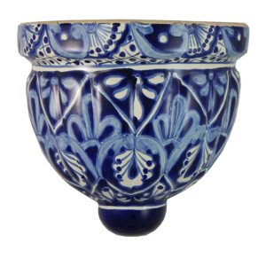 Mexican Talavera Ceramic Wall Planter 07