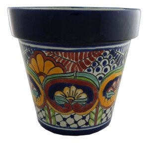 Mexican Ceramic Flower Pot Planter 17