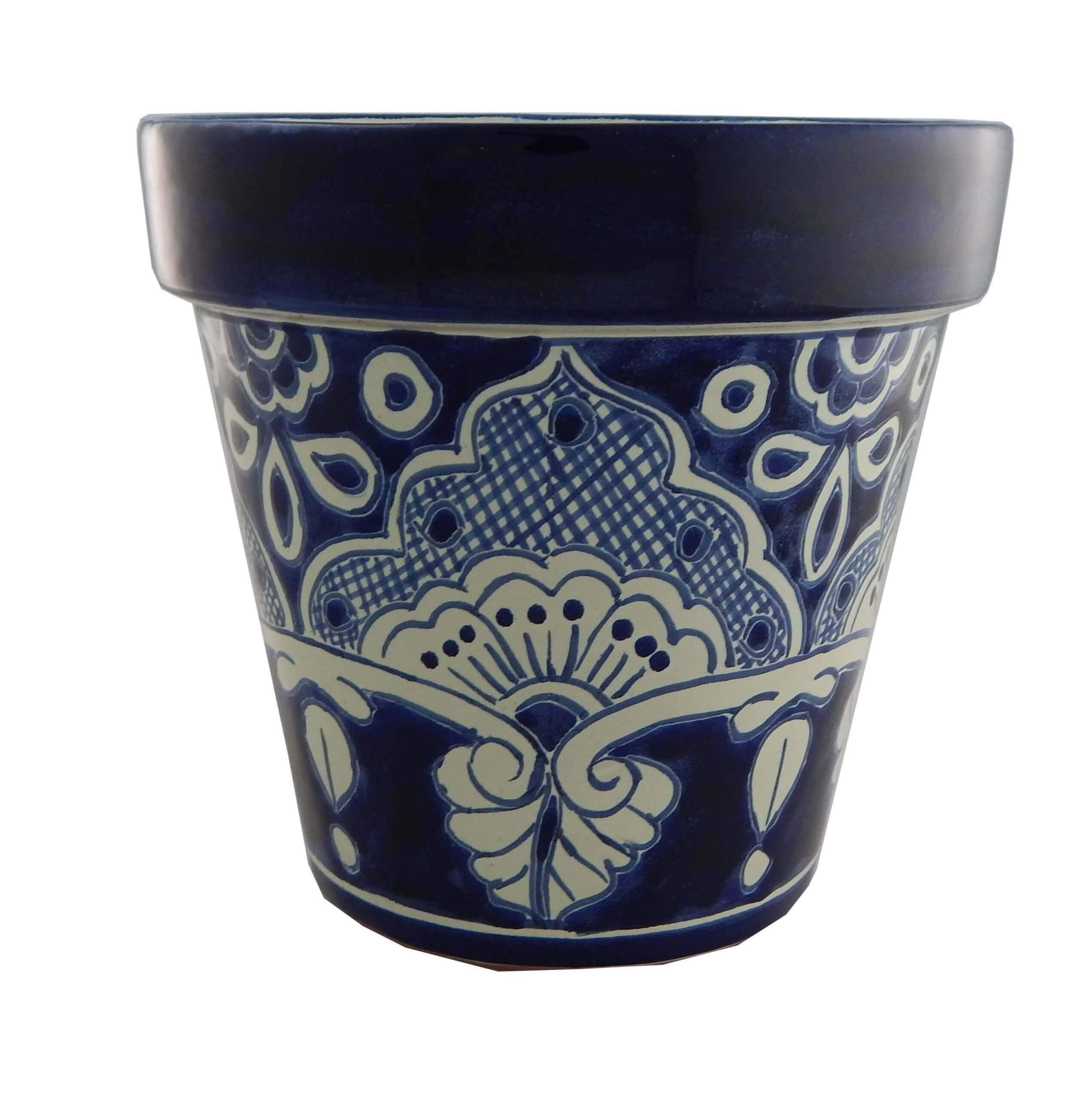 Mexican Ceramic Flower Pot Planter 19