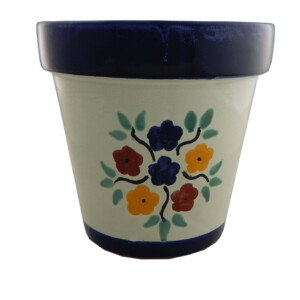 Mexican Ceramic Flower Pot Planter 23