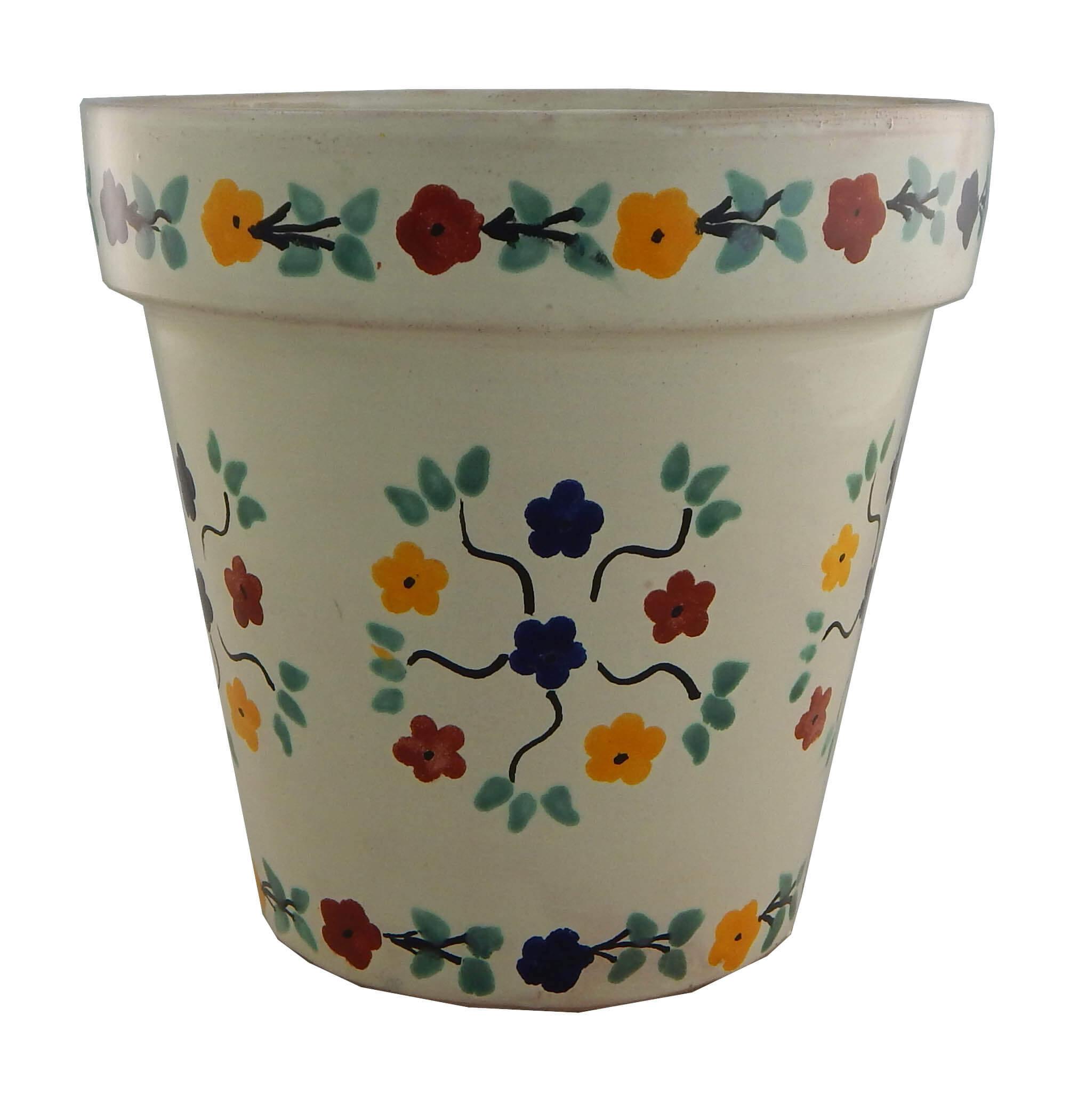 Mexican Ceramic Flower Pot Planter 25