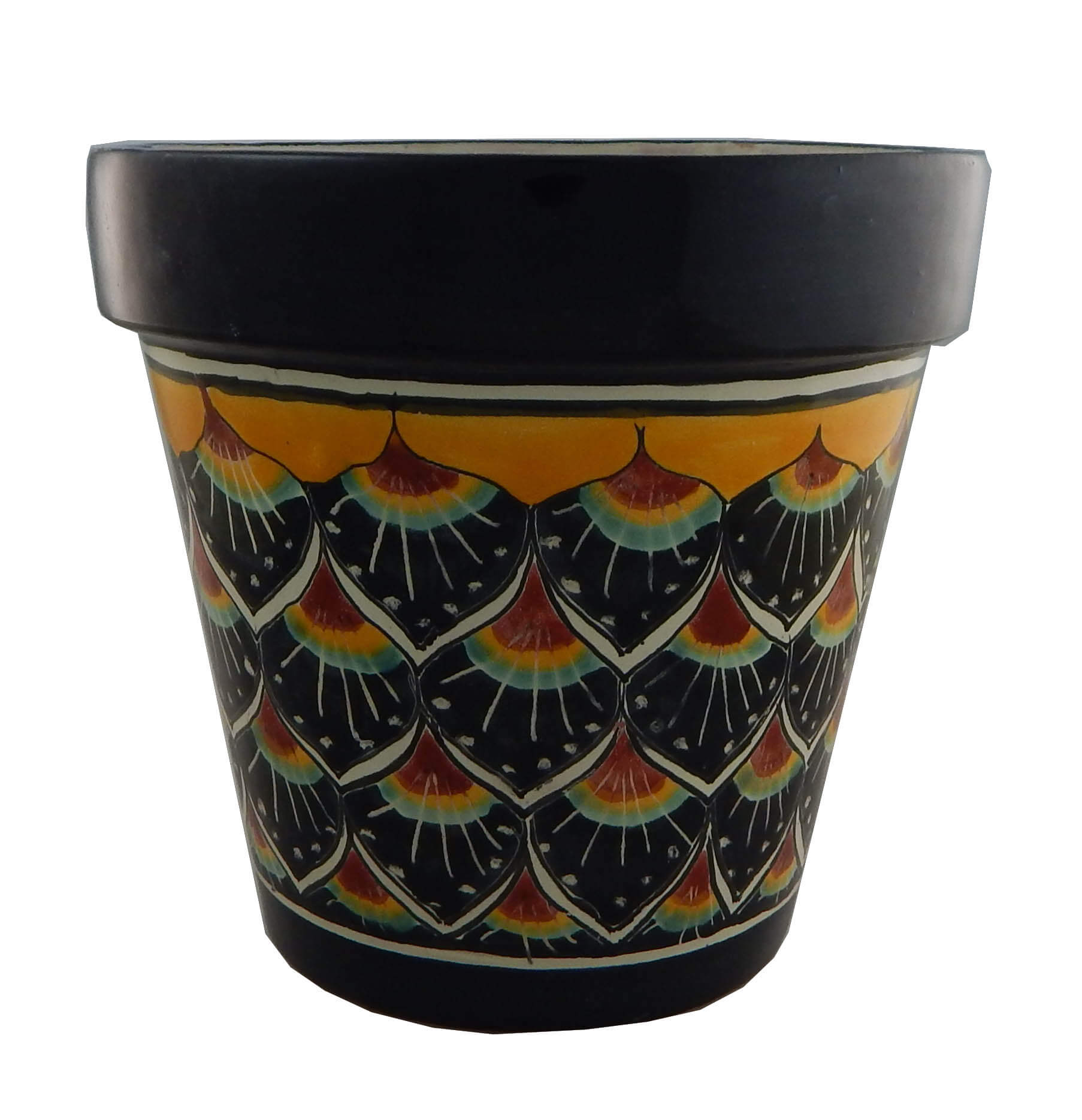Mexican Ceramic Flower Pot Planter 32