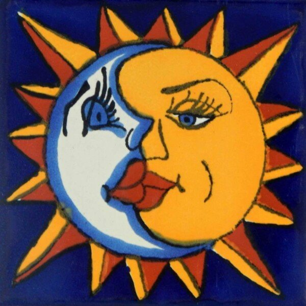 Eclipse Mexican Talavera Tile