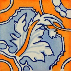 Cola de Dragon Mexican Talavera Ceramic Tiles