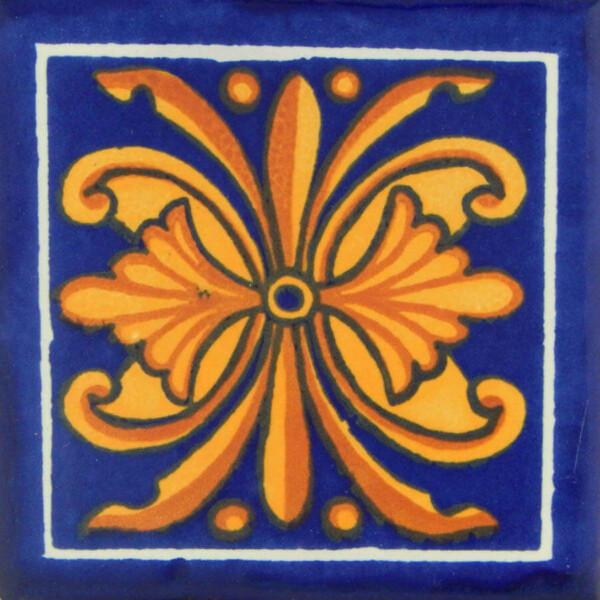 Flor Nacional Mexican Talavera Ceramic Tiles