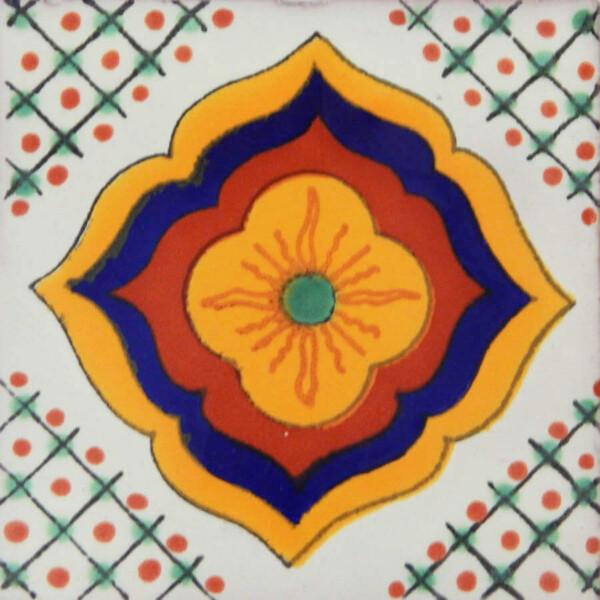 Amanecer Mexican Talavera Tile