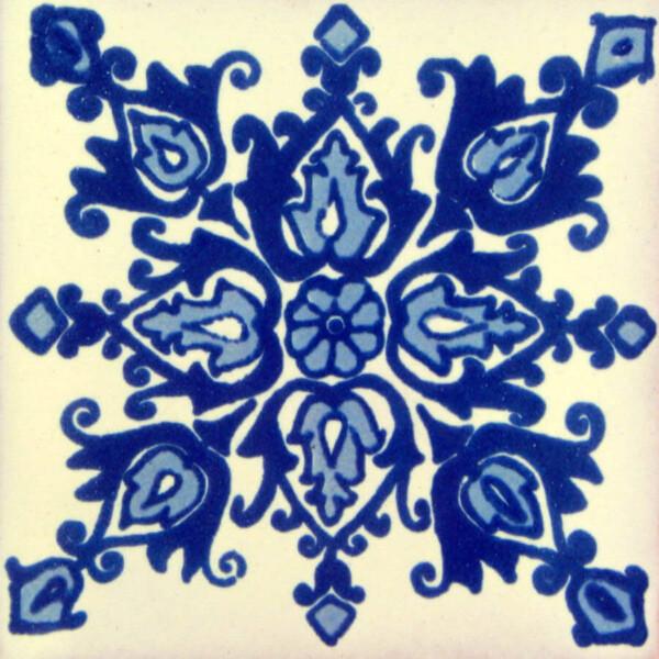 Arabe Mexican Ceramic Handmade Folk Art Tiles