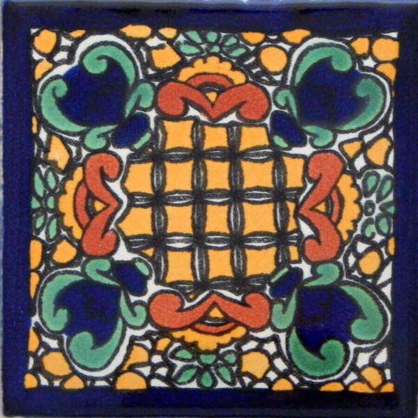 Campo Santo Mexican Ceramic Handmade Folk Art Tiles