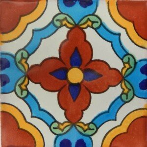 Vicky Verde Mexican Ceramic Tile