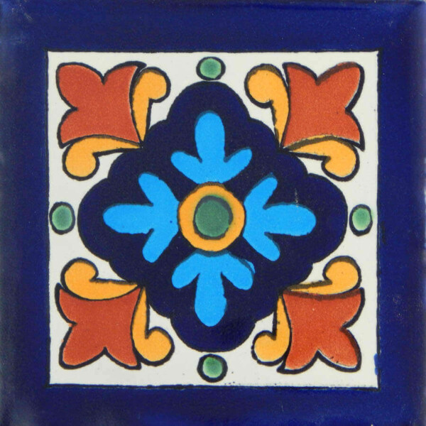 Hortencia Mexican Ceramic Tile