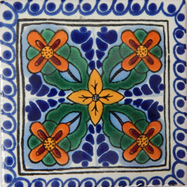 San Roman Mexican Ceramic Tile