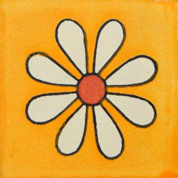 Amapola FDO Mexican Ceramic Talavera Tiles